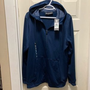 NWT Under Armour MSN's zip up hoodie large